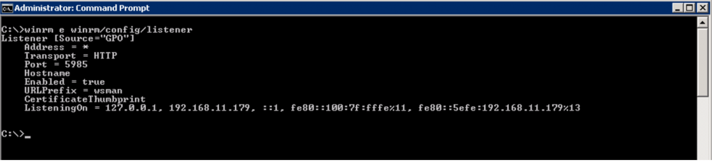 How to Enable WinRM on Windows Servers & Clients – Support